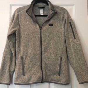 Patagonia Gray Womens Better Sweater Full Zip